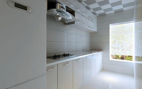 简欧风格一居室厨房装修图片欣赏