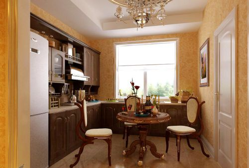 简欧风格四居室厨房装修图片