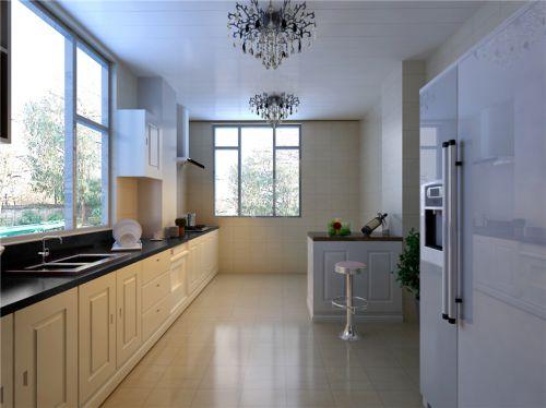 简欧风格五居室厨房瓷砖装修效果图大全
