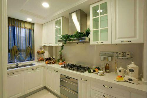 简欧风格四居室厨房装修效果图欣赏