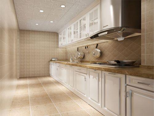 简欧风格三居室厨房装修效果图大全