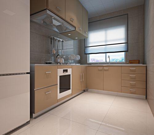 简欧风格三居室厨房灯具装修图片
