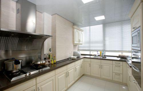 简欧风格三居室厨房装修效果图欣赏