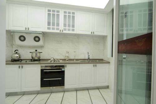 简欧风格二居室厨房装修效果图大全