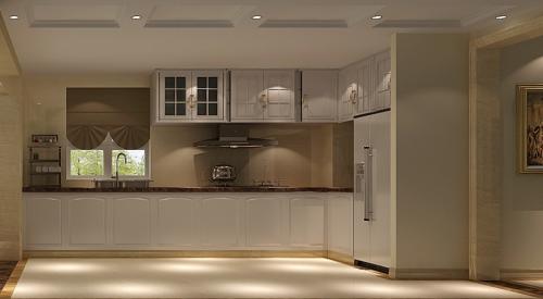 简欧风格三居室厨房隔断装修效果图大全