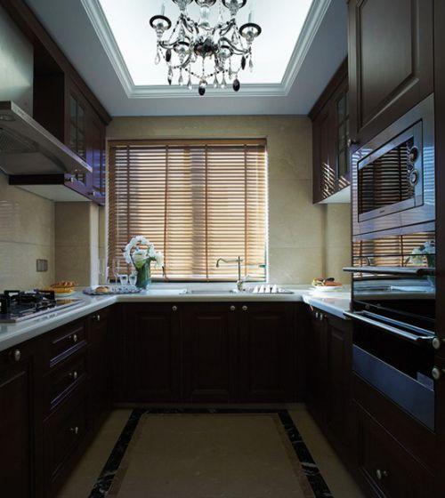 简欧风格二居室厨房吊顶装修效果图欣赏