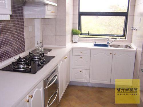 简欧f风格二居室厨房装修效果图大全