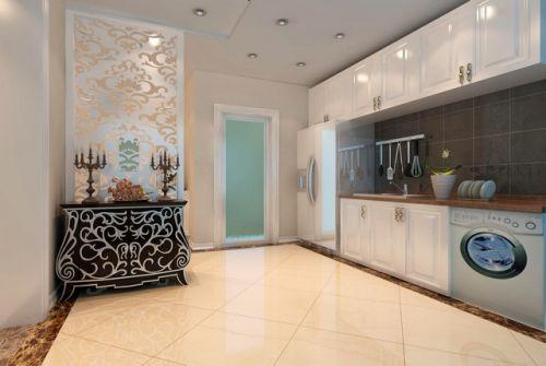 简欧风格复式厨房装修效果图大全