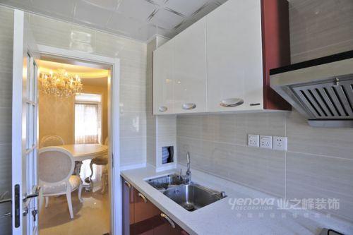 简欧三居室厨房装修效果图欣赏