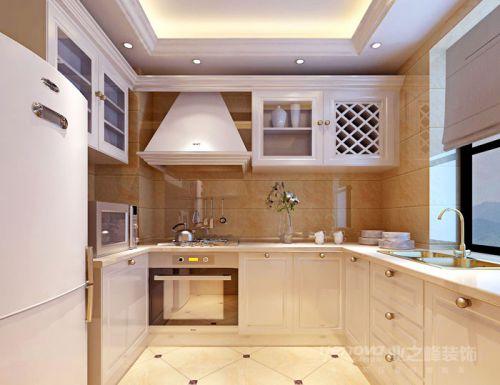 简欧风格三居室厨房装修图片欣赏