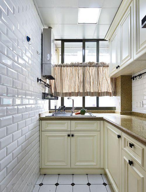 简欧厨房设计效果图欣赏