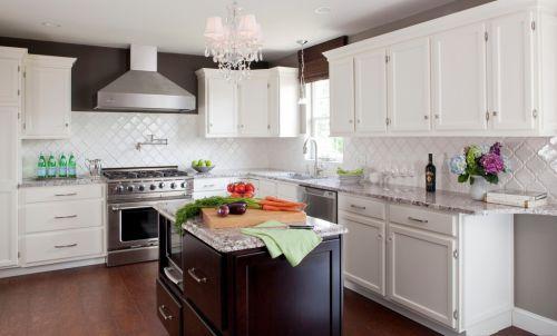 白色简欧厨房