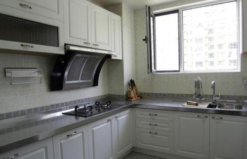 简欧风格厨房台面设计效果图