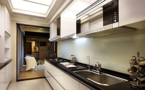 简欧风格厨房橱柜设计图