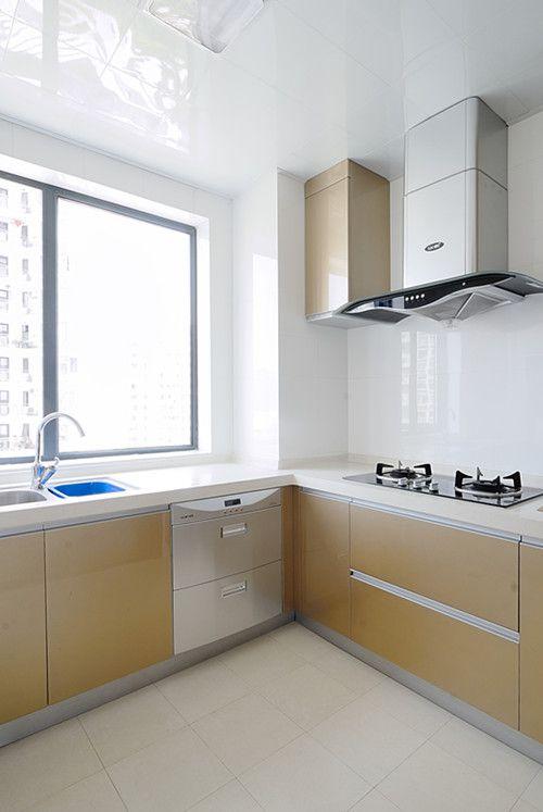 中式风格三居室厨房灶台装修效果图大全