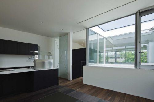 125平中式风格三居室厨房装修效果图