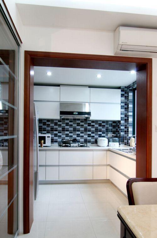 中式风格六居室厨房灯具装修效果图欣赏