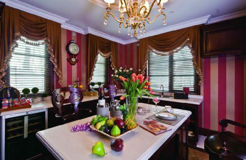 中式古典六居室厨房装修图片欣赏