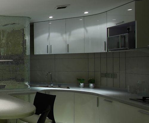 中式风格一居室厨房灶台装修图片