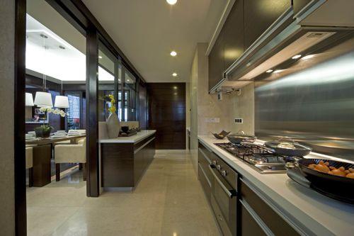 中式古典五居室厨房灶台装修效果图大全