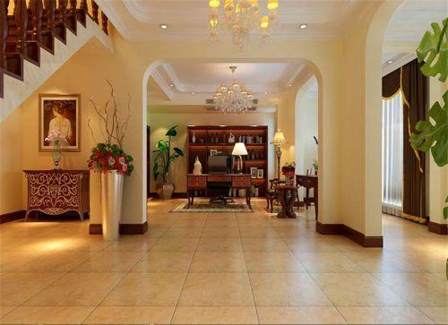 中式风格五居室厨房灶台装修效果图大全