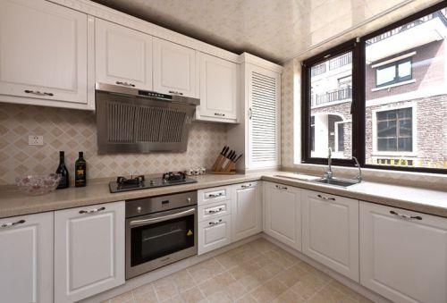 中式古典别墅厨房装修效果图