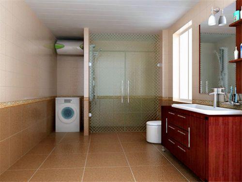 中式风格三居室厨房橱柜装修图片
