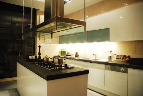 中式风格别墅厨房灯具装修效果图大全