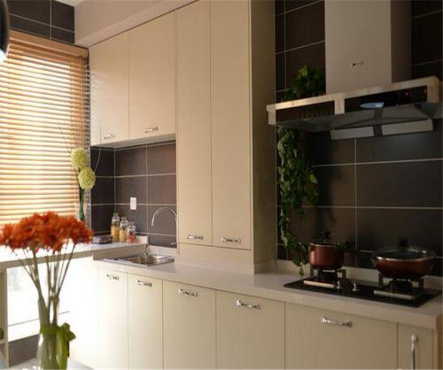 中式风格二居室厨房灯具装修效果图大全