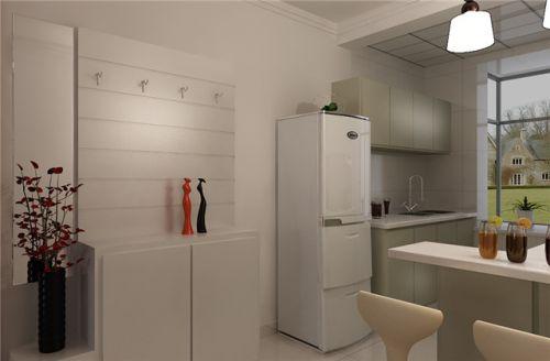 中式风格一居室厨房装修效果图