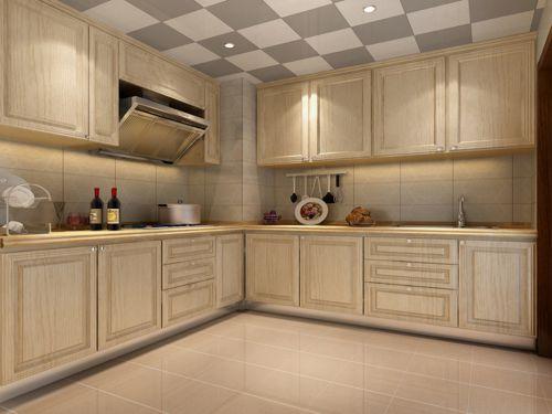 新中式风格三居室厨房灯具装修效果图欣赏