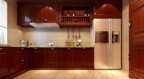中式风格三居室厨房装修图片欣赏