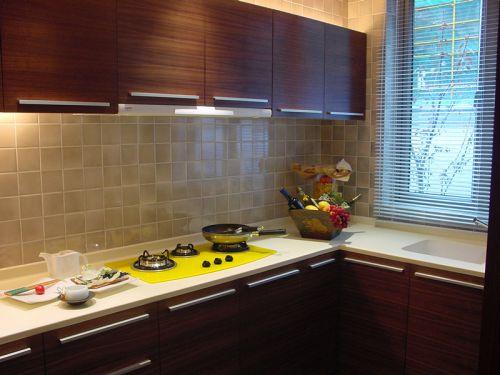 新中式风格四居室厨房装修图片欣赏