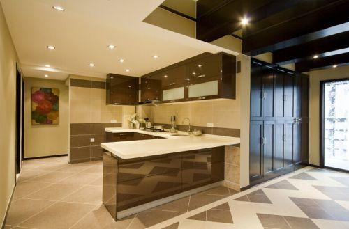 中式风格四居室厨房装修图片欣赏