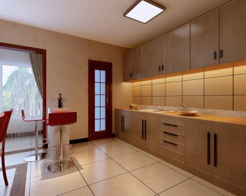 中式风格四居室厨房装修效果图