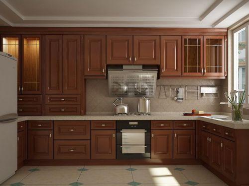 中式风格二居室厨房装修效果图大全