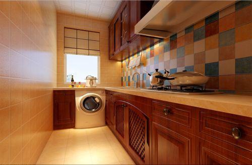 现代新中式风格二居室厨房装修效果图欣赏