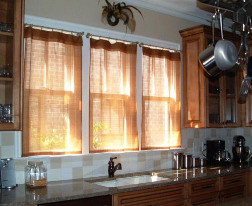 中式古典风格厨房飘窗装修效果图