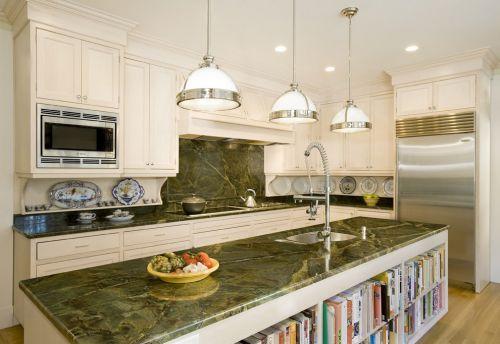 白色欧式简约厨房效果图