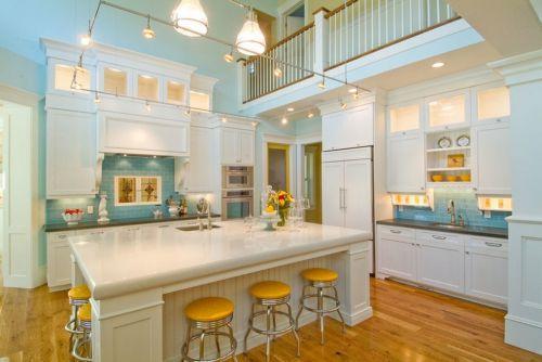 别墅欧式古典风格厨房效果图