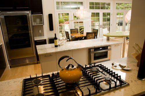 欧式风格实用厨房空间装修实景图