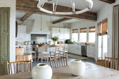 欧式风格温馨朴实厨房装修实景图