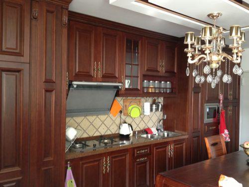 欧式风格一居室厨房装修效果图欣赏