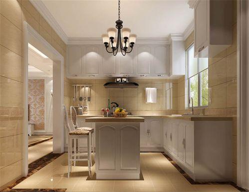 欧式风格四居室厨房灶台装修效果图大全