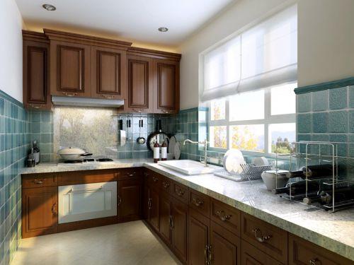 欧式四居室厨房装修图片
