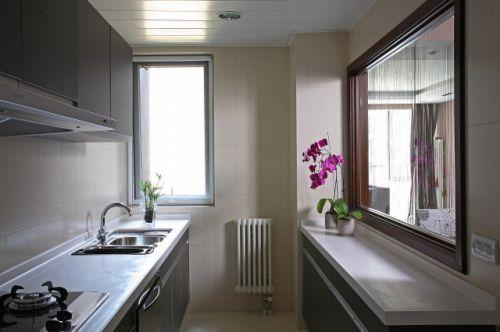 欧式新古典三居室厨房装修效果图欣赏