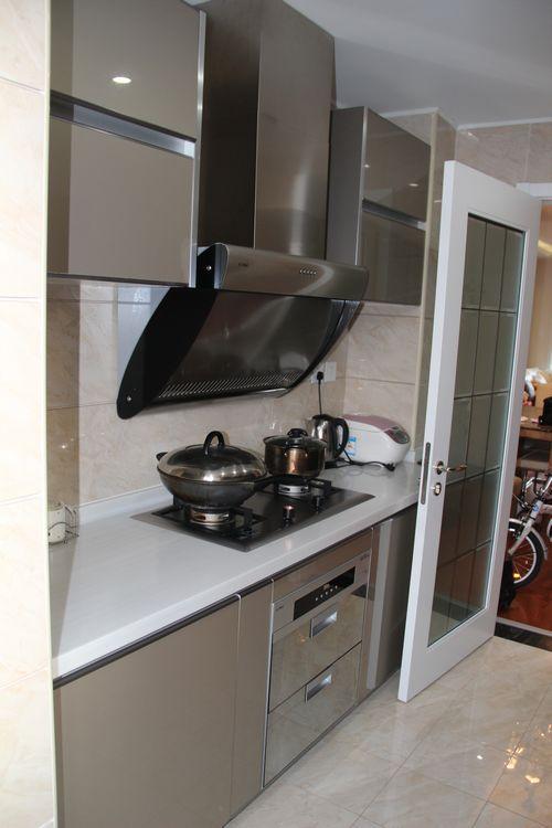 简约欧式二居室厨房装修效果图大全