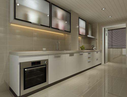 欧式复式厨房装修图片欣赏