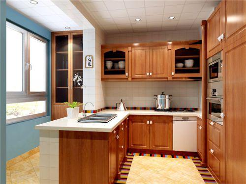 欧式古典四居室厨房装修效果图大全