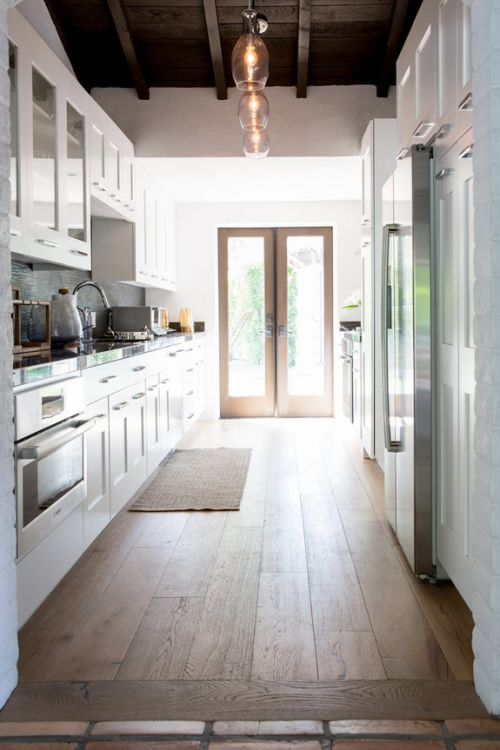 欧式风格精致白色厨房装修实景图